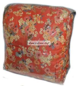 RALPH LAUREN Madeline Floral Red FULL/ QUEEN COMFORTER NEW RARE