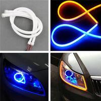 30CM DRL Flexible LED Tube Strip Daytime Running Lights Car Parking Lamps FE