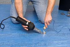110v Forsthoff Tube Q Vinyl Floor Hot Air Welding Kit - New - Plastic Welder Gun
