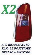 COPPIA FANALI FANALINO STOP POSTERIORE SX - DX LANCIA MUSA DAL 2004 AL 2007