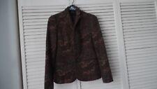 Ralph Lauren Black Label Women's Jacket Lams Wool Floral size 4
