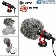 BOYA BY-MM1 Universal Video Mic Microphone Condensor For Nikon Canon DSLR Camera