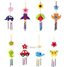 3D Wind Chime DIY Kit Kids Handmade Educational Craft Toy Home Decor Xmas Gift