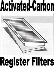ACTIVATED CARBON Register Vent Air Filters - Keep Ducts Clean and remove Odors.