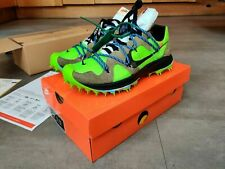 OFF-WHITE x NIKE Zoom Terra Kiger 5 ELECTRIC GREEN CD8179-300 UK7 / USWomens 9.5