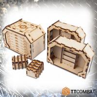 TTCombat BNIB Fortified Bunker Airlocks TTSCW-SFG-084