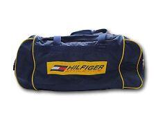 Unisex TOMMY HILFIGER Hilfiger Athletics Yellow Duffle Overnight Gym Bag Luggage