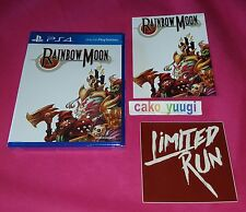 RAINBOW MOON SONY PS4 VERSION US LIMITED RUN #16 NEUF NEW ANGLAIS