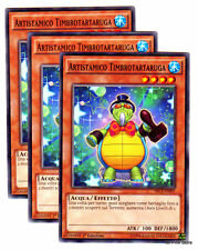Set 3X ARTISTAMICO TIMBROTARTARUGA SECE-IT005 Comune in Italiano YUGIOH