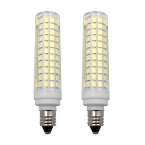 E11 LED bulb 10W 110V 136-2835 SMD Ceramics Ceiling fan Light Equivalent 100W