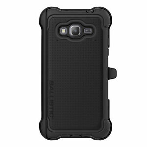 Ballistic Samsung Galaxy Grand Prime Belt Clip Holster Case Screen Protector
