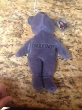 WWF Attitude Bear; Undertaker/ Lord Of Darkness Plush, Ex With Tags
