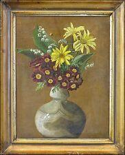 BLUMENSTILLLEBEN UM 1900 - JUGENDSTIL ART- NOUVEAU 37 X 30 CM