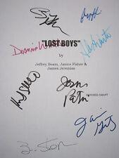 Lost Boys Signed Movie Script Corey Haim Kiefer Sutherland Feldman Wiest reprint