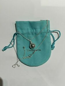Tiffany & Co. City HardWear 12.75mm Ball Pendant Necklace in 925 Silver