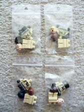 LEGO - Set of 4 Ghostbusters Minifigs w/ Neck Brackets - From 75827 - New