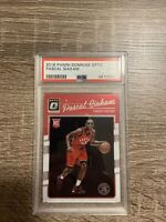 2016-17 Donruss Optic Pascal Siakam RC #171 Rookie Base PSA 9 MINT