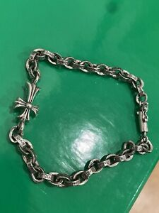 Vintage Chrome Hearts Cross Bracelet
