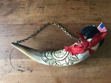 Antique Horn Pin Cushion Sewing