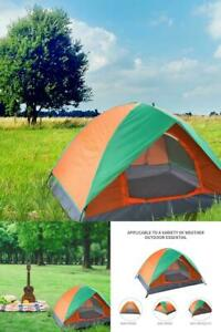 Camping Dome Tent Collapsible Portable Indoor Outdoor Hiking Waterproof 2 Person