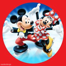 70 x MICKEY & MINNIE Stickers NON Personalised Birthday Party Thank You gift 293