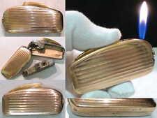 Briquet Ancien @ Silver Match Paquebot de France RECHARGEABLE Lighter Feuerzeug