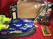 Vintage Hovercraft - Tyco Typhoon T-3 RC 9.6V Turbo Retro Radio Controlled T3