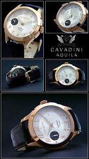 aquila- Lujo Hombre Cuerda manual reloj ETA 6497 Suiza Hecho ROS oro