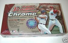 2000 Bowman Chrome Baseball Factory Sealed Hobby Card Box Oswalt, Zambrano RC