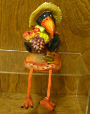 """Halloween #H7373A CROW GIRL Shelf Sitter 6"""" New from our Retail Store, Transpac"""