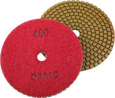 "5"" Wet Diamond Polishing Pad Grit 400 for Granite/Concrete/Marble Countertop"