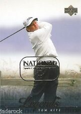Tom Kite 2001 Upper Deck Golf Legends National #1/1 NSCC