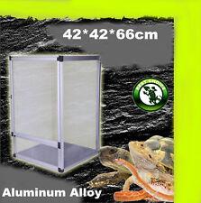 Deluxe Aluminum Alloy Insect Mesh Cage Enclosure Reptile Enclosure Terrarium