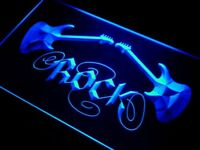 i047-b Guitar Rock n Roll Neon Light Sign