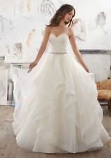 Mori Lee Bridal 5504 Light Gold/Silver size 12 Bridal Wedding Gown