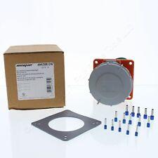 Arrow Hart Pin & Sleeve 30A 125/250VAC Watertight Receptacle Outlet AH430R12W