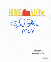 DANIEL STERN SIGNED AUTO HOME ALONE FULL SCRIPT MARV BECKETT BAS COA 4