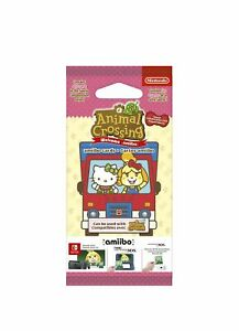 Animal Crossing: New Leaf + Welcome Sanrio Amiibo Hello Kitty Card Pack - New