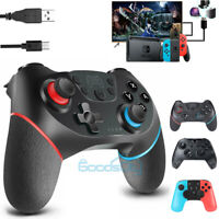 For Nintendo Switch Wireless Pro Controller Gamepad Joystick Remote Rechargeable