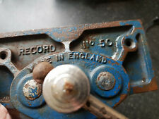 Record No 50 Woodworking vice