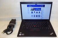 Lenovo Thinkpad Laptop x1 Carbon Core i5 1.8 ghz 256GB SSD Windows 10 Pro Camera