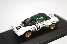 Lancia stratos 1ST rallye monte carlo 1975 sandro munari 1:43 altaya RC28