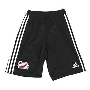 New England Revolution MLS Adidas Men's Black Team Crest Training Shorts