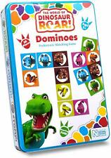 The World Of dinosaur Roar Dominoes Prehistoric Matching Game