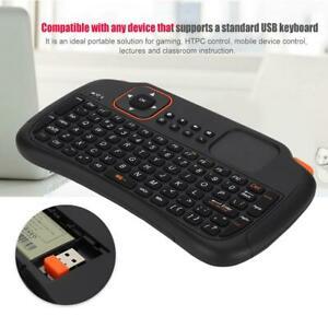 2.4GHz Wireless Mini BT Keyboard Touchpad for Android Remote Control WYD