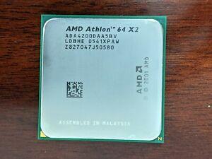 AMD Athlon 64 X2 4200+ ADA4200IAA5CU Socket AM2 2.2 GHz Dual-Core CPU Tested
