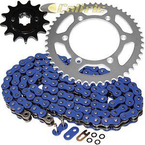 Blue O-Ring Drive Chain & Sprockets Kit for Yamaha TTR230 TT-R230 2005-2016