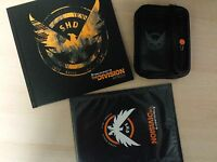 Tom Clancy's The Division Armband, Poster, Art Book from Collector's Edition NEW