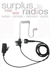 2 WIRE SURVEILLANCE HEADSET WITH PUSH TALK FOR ICOM F4S F4TR F3S IC-V82 IC-U82