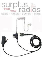 2 Wire Surveillance Headset With Push Talk For Icom F4S F4Tr F3S Ic-V82 Ic-U82